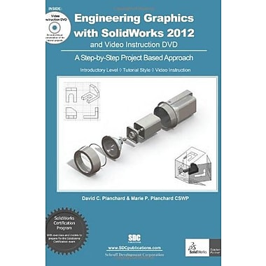 Engineering Graphics with SolidWorks 2012, New Book, (9781585037063)