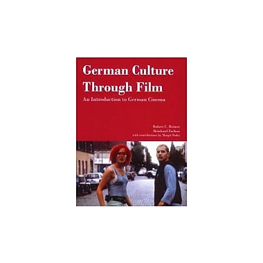German Culture Through Film: An Introduction to German Cinema, New Book, (9781585101023)