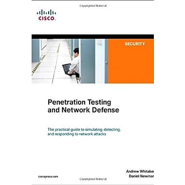 Penetration Testing and Network Defense, New Book, (9781587052088)