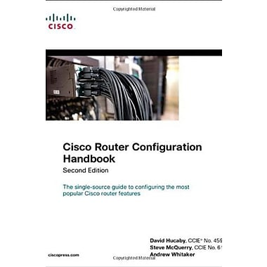 Cisco Router Configuration Handbook (2nd Edition) (Networking Technology), New Book, (9781587141164)