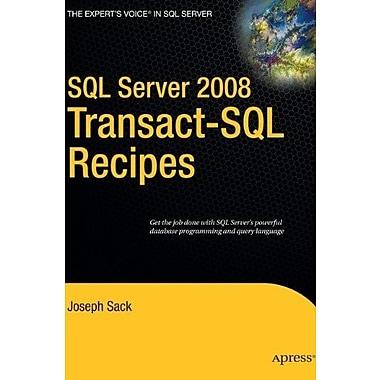 SQL Server 2008 Transact-SQL Recipes: A Problem-Solution Approach, New Book, (9781590599808)