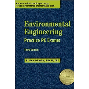 Environmental Engineering Practice PE Exams, 3rd ed., Used Book, (9781591260011)