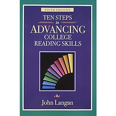 Ten Steps to Advancing College Reading Skills: Reading Level: 9-13 (Townsend Press Reading Series), New Book, (9781591942009)