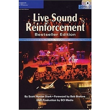 Live Sound Reinforcement, Bestseller Edition (Hardcover & DVD), New Book, (9781592006915)