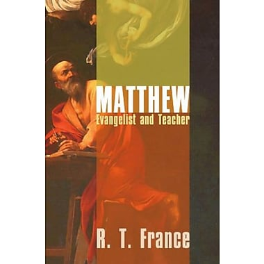 Matthew: Evangelist and Teacher, New Book, (9781592449361)