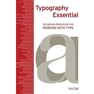 Typography Essentials: 100 Design Principles for Working with Type, Used Book, (9781592535231)