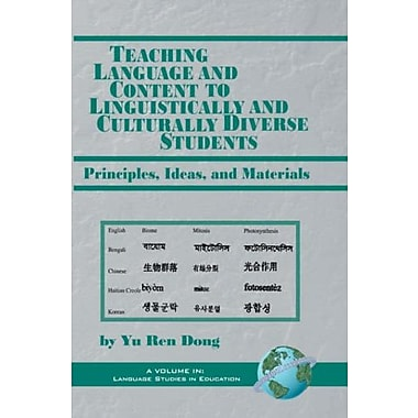 Teaching Language and Content to Linguistically and Culturally Diverse Students, New Book, (9781593110888)
