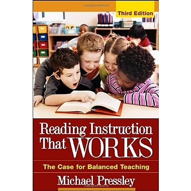 Reading Instruction That Works, Third Edition: The Case for Balanced Teaching, Used Book, (9781593852290)