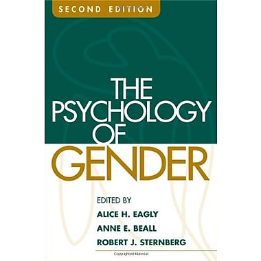 The Psychology of Gender, Second Edition, New Book, (9781593852443)