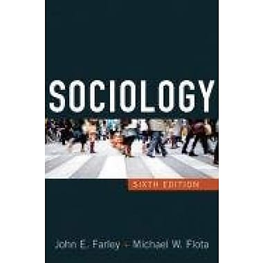 Sociology, New Book, (9781594518041)