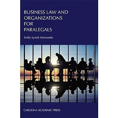 Business Law and Organizations for Paralegals, Used Book, (9781594608841)