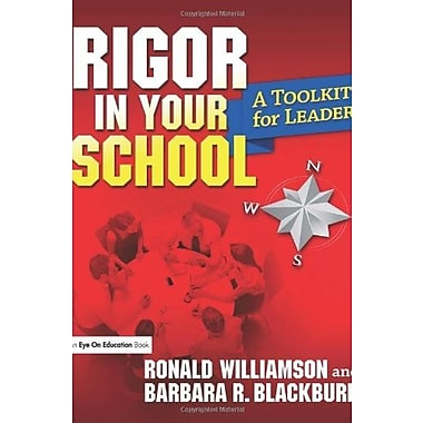 Rigor in Your School: A Toolkit for Leaders, New Book, (9781596671768)