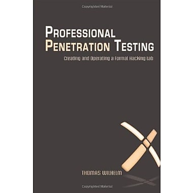 Professional Penetration Testing: Volume 1: Creating and Learning in a Hacking Lab, New Book, (9781597494250)