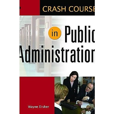 Crash Course in Public Library Administration, Used Book, (9781598844658)