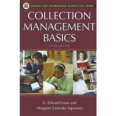 Collection Management Basics (Library and Information Science Text Series), New Book, (9781598848649)