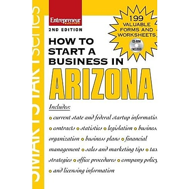 How to Start a Business in Arizona (Smart Start), Used Book, (9781599180939)