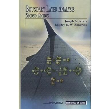 Boundary Layer Analysis (AIAA Education), New Book, (9781600868238)