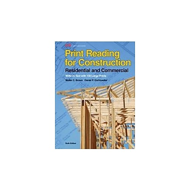 Print Reading for Construction: Residential and Commercial, Used Book, (9781605258027)