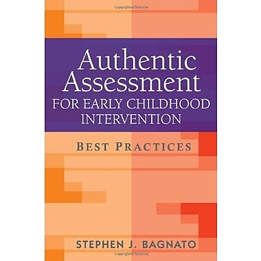 Authentic Assessment for Early Childhood Intervention: Best Practices, New Book, (9781606232507)