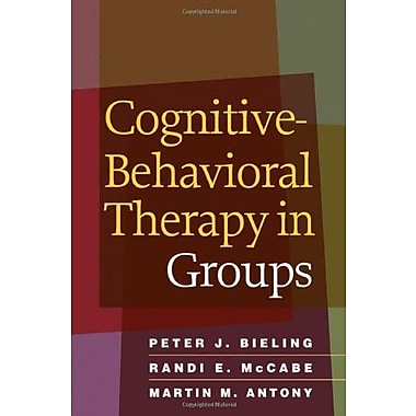 Cognitive-Behavioral Therapy in Groups, New Book, (9781606234044)