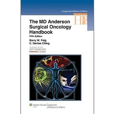 The M.D. Anderson Surgical Oncology Handbook (Lippincott Williams & Wilkins Handbook Series), Used Book, (9781608312849)