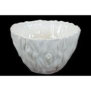 Urban Trends Ceramic Tree Trunk Design Decorative Bowl; 7.5'' Height
