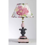 Yessica's Collection April in Paris Tulip 18'' H Table Lamp with Empire Shade
