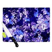 KESS InHouse Floral Fantasy by Ebi Emporium Cutting Board; 0.5'' H x 15.75'' W x 11.5'' D