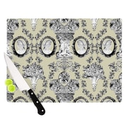 KESS InHouse Imperial Palace by DLKG Design Cutting Board; 0.5'' H x 11'' W x 7.5'' D