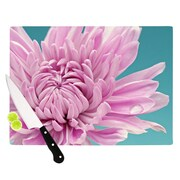 KESS InHouse Purple Dream by Nastasia Cook Flower Cutting Board; 0.5'' H x 15.75'' W x 11.5'' D