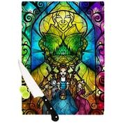 KESS InHouse Wizard of Oz by Mandie Manzano Fantasy Cutting Board; 0.5'' H x 15.75'' W x 11.5'' D