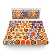 KESS InHouse Flower Garden by Laura Nicholson Light Cotton Duvet Cover; Twin