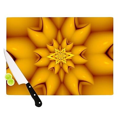 KESS InHouse Citrus Star by Michael Sussna Cutting Board; 0.5'' H x 11'' W x 7.5'' D WYF078277497348