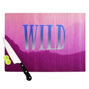 KESS InHouse Wild by Catherine McDonald Cutting Board; 0.5'' H x 15.75'' W x 11.5'' D