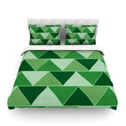 KESS InHouse Emerald City by Catherine McDonald Featherweight Duvet Cover; King/California King
