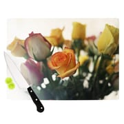 KESS InHouse Sweet Reminder by Beth Engel Flowers Cutting Board; 0.5'' H x 15.75'' W x 11.5'' D