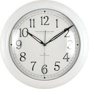 FirsTime 11'' Slim Wall Clock; White