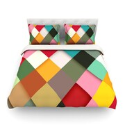 KESS InHouse Colorful by Danny Ivan Light Cotton Duvet Cover; Twin