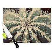 KESS InHouse Cactus by Angie Turner Plant Cutting Board; 0.5'' H x 11'' W x 7.5'' D