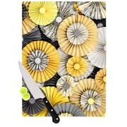 KESS InHouse Daffodil by Heidi Jennings Cutting Board; 0.5'' H x 11'' W x 7.5'' D