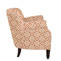 angelo:HOME Carissa Arm Chair I; Autumn Orange