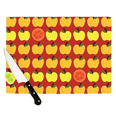 KESS InHouse Seasons Autumn by Jane Smith Cutting Board; 0.5'' H x 11'' W x 7.5'' D WYF078277494948
