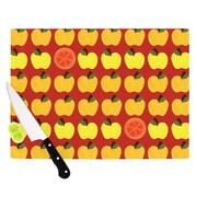 KESS InHouse Seasons Autumn by Jane Smith Cutting Board; 0.5'' H x 11'' W x 7.5'' D