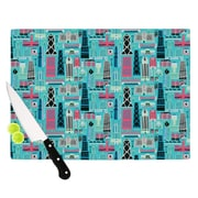 KESS InHouse My Kind of Chicago by Allison Beilke Cutting Board; 0.5'' H x 15.75'' W x 11.5'' D