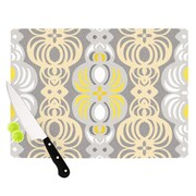 KESS InHouse Chalene by Gill Eggleston Cutting Board; 0.5'' H x 15.75'' W x 11.5'' D