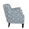 angelo:HOME Carissa Arm Chair I; Midnight Blue