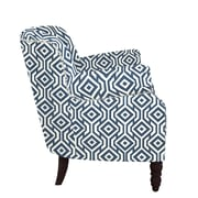 angelo:HOME Carissa Arm Chair I; Midnight Blue