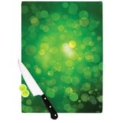 KESS InHouse Radioactive Bokeh Cutting Board; 0.5'' H x 11'' W x 7.5'' D