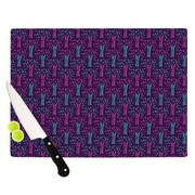 KESS InHouse Fairy Forest by Holly Helgeson Cutting Board; 0.5'' H x 11'' W x 7.5'' D