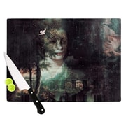KESS InHouse Lady Grace by Suzanne Carter Cutting Board; 0.5'' H x 11'' W x 7.5'' D